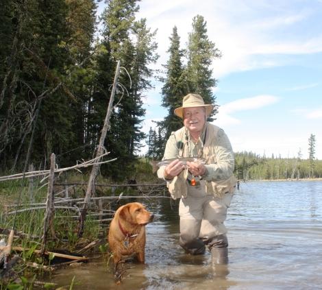 Chrystina Lake brook trout
