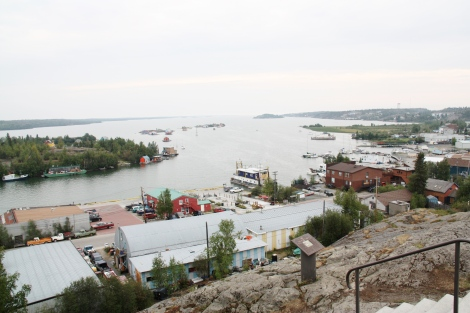 Old Town Yellowknife NWT